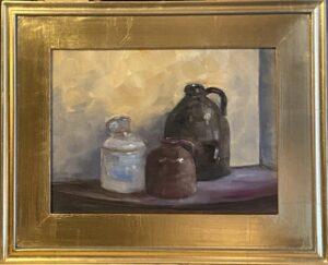 202 - Dennison Jugs - 9x12 - Still Life - Not Available - $600