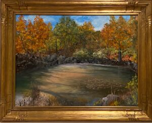 198 - Quarry in Autumn - 24xc32 - Landscape - Not Available - $1,500