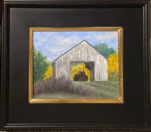 199 - Giliead Tractor - 8x10 - Landscape - $350