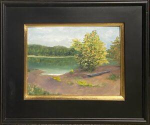 200 - Lake Monroe Launch - 9x12 - Landscape - $150