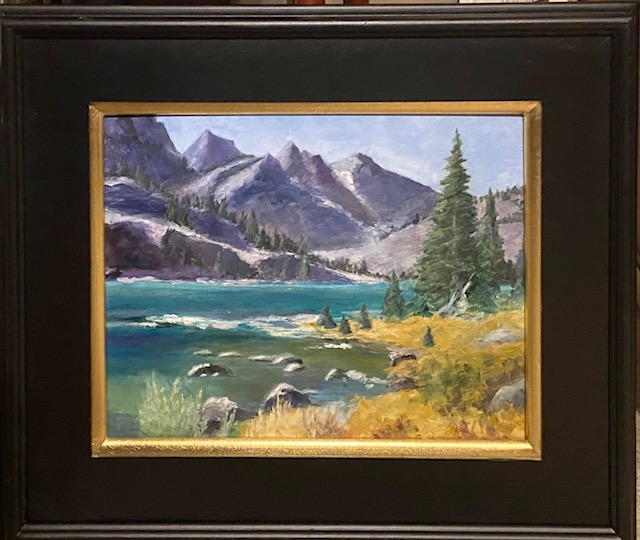 201 - Yellowstone Vista - 11x14 - Landscape - $375