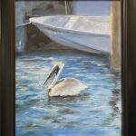 204 - Key West Pelican - 11x14 - Landscape - $325