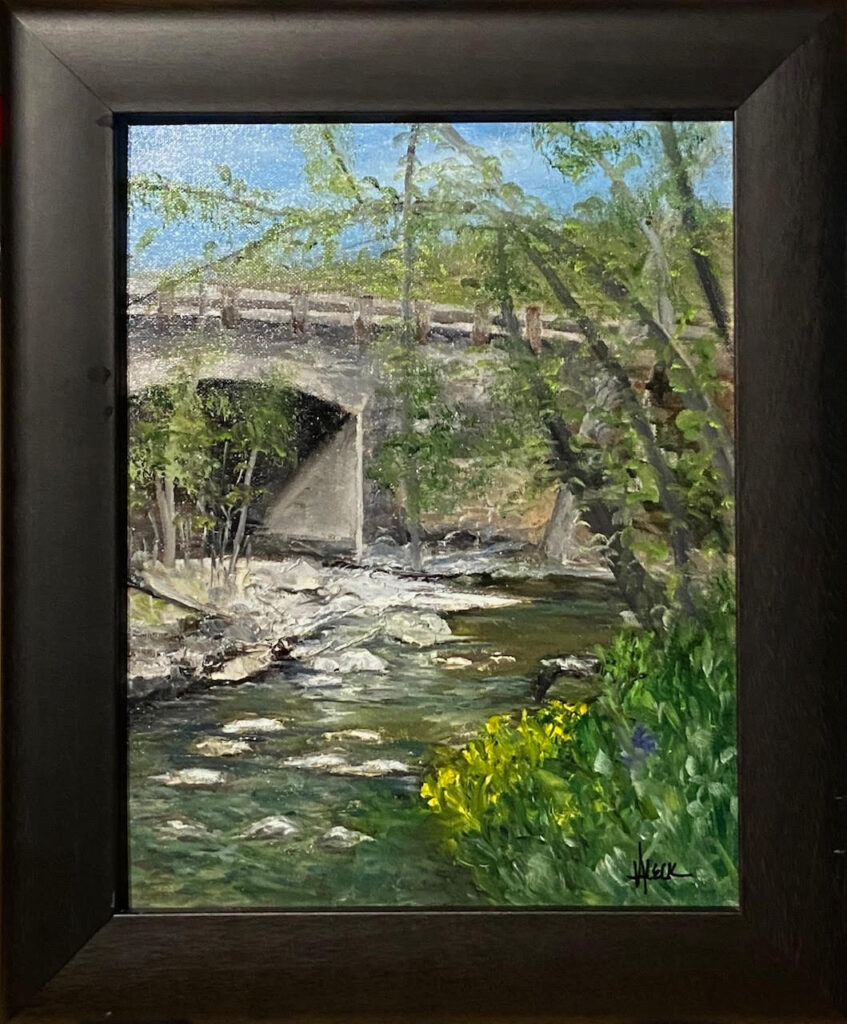 205 - McCormick Bridge - 14x11 - Landscape - $275