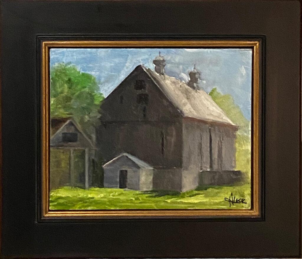 211 - Bloomfield Barn - 8 x 10 - Landscape - $325