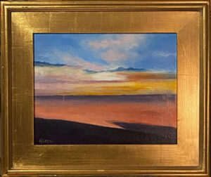 214 - Sunset at the Shore - 11 x 14 - Landscape - $325