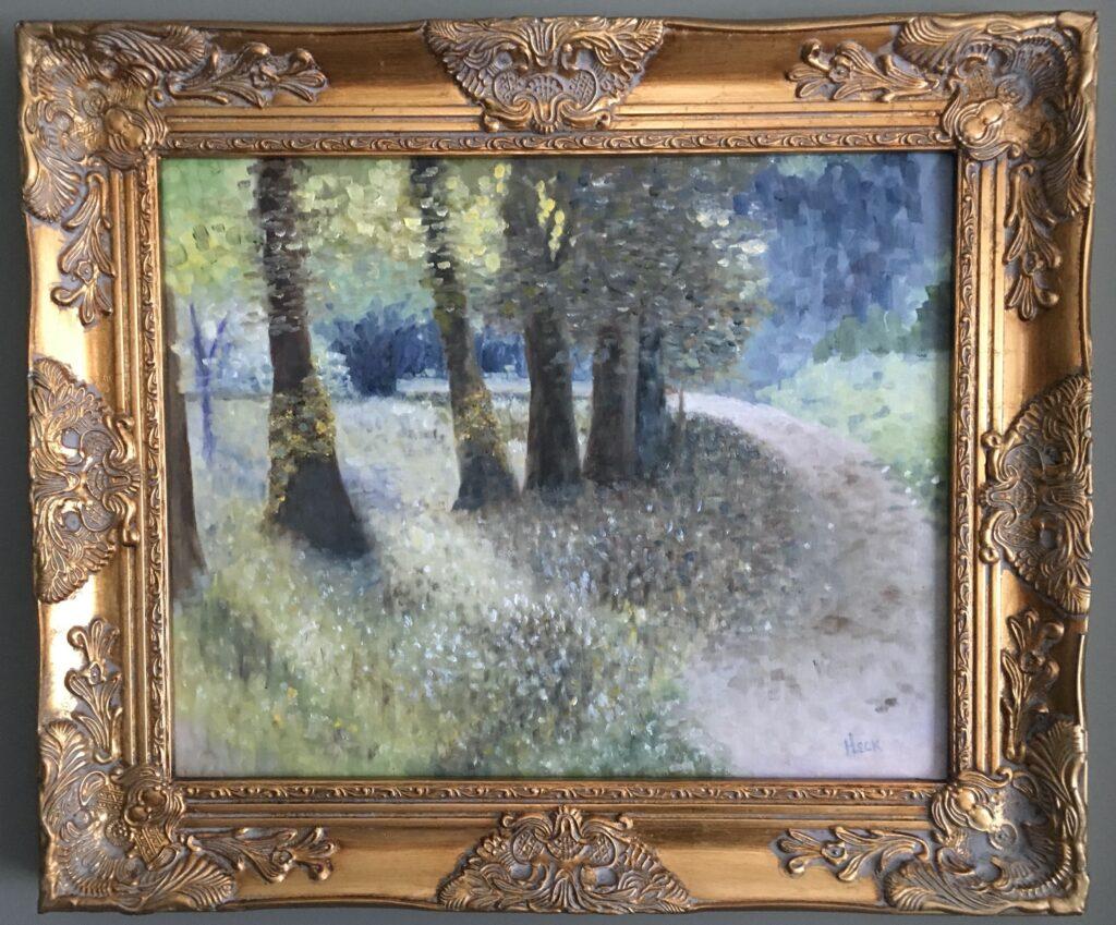 104 - Autumn Lane - 16 x 20  - Landscape - $125