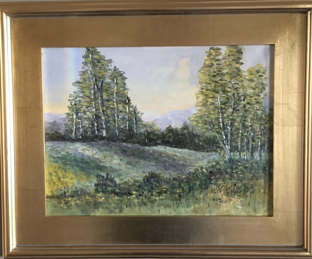 108 - Spring Meadow - 11 x 14 - Landscape - 🔴 SOLD
