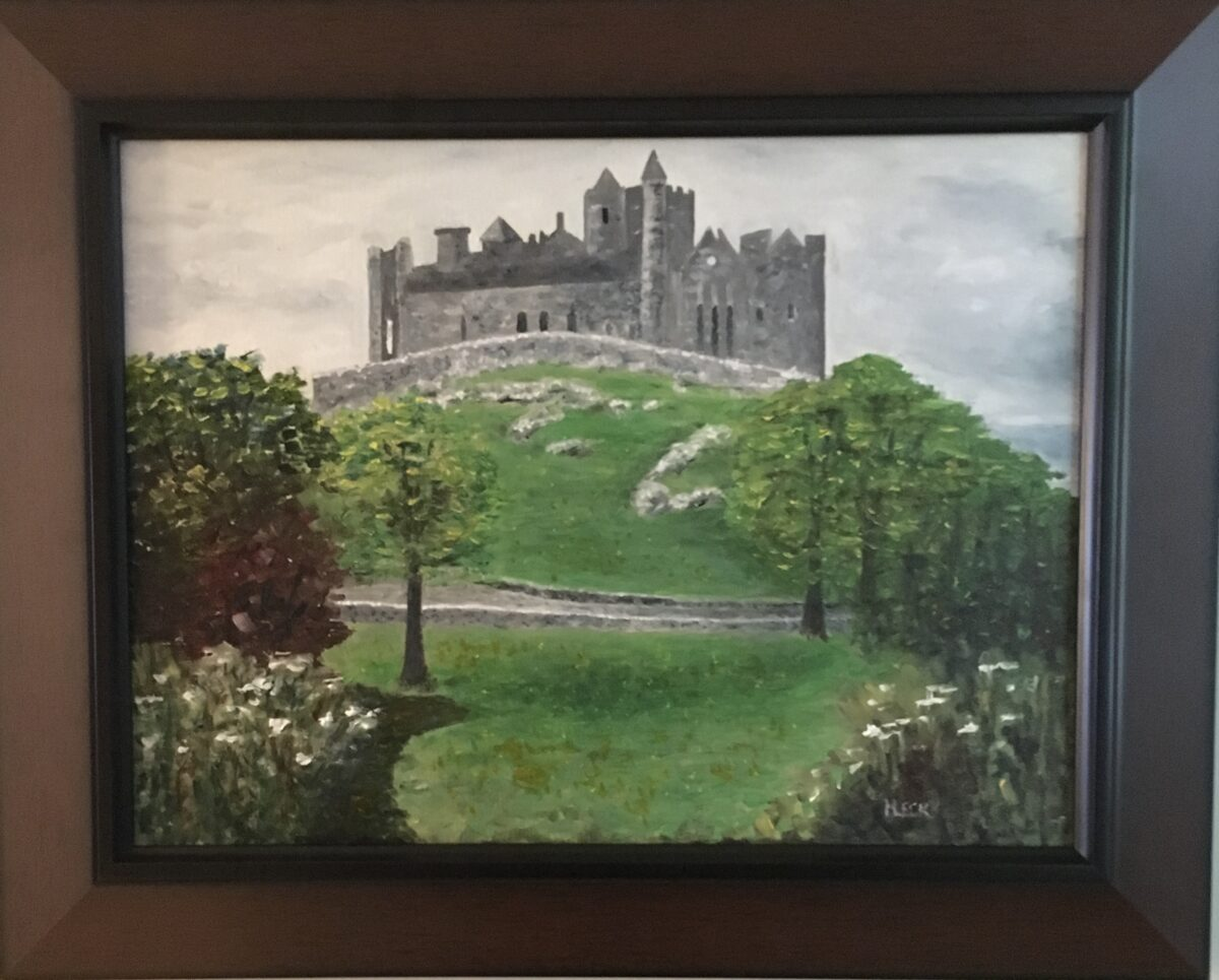 112 - Rock of Cashel - 11 x 14 - Architecture - $350 - Not Available