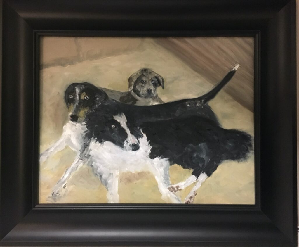 118 - Anya's Dogs - 8 X 10 - All - Not Available - $100