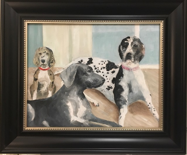 119 - Gretchen's Dogs - 8 x 10 - All - $100 - Not Available