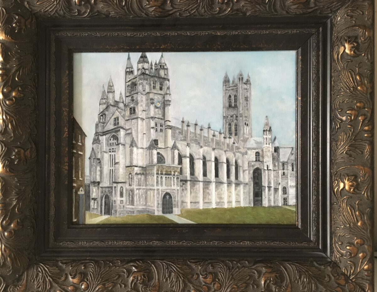 121 - Canterbury Cathedral - 11 x 14 - Architecture - $450 - Not Available