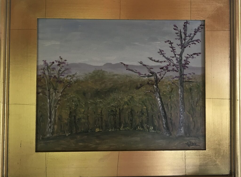 122 - Brown County Vista - 11 x 14 - Landscape - Not Available - $100