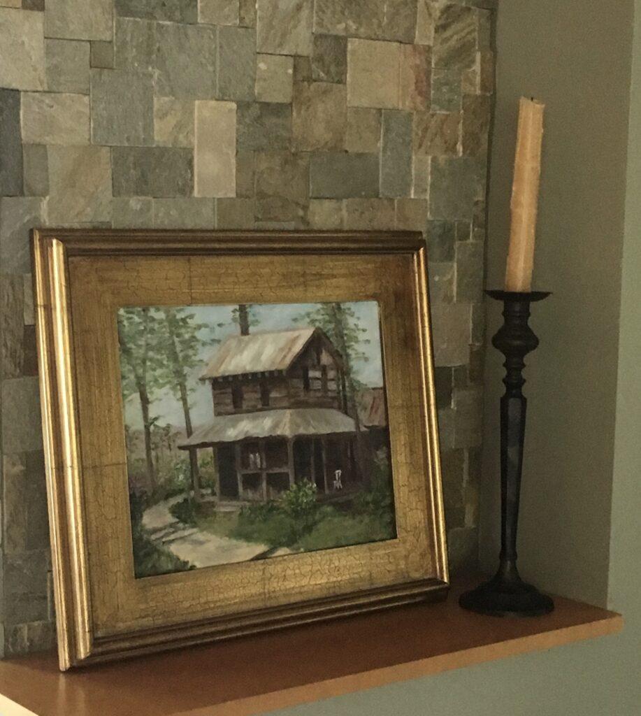 124 - Rural Respite - 11 x 14 - Architecture - $100