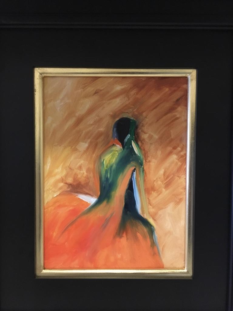 127 - Moving Forward - 9 x 12 - Portrait - $125