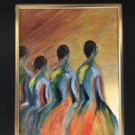 129 - Dancing into the Light - 11 x 14 - Portrait - $150