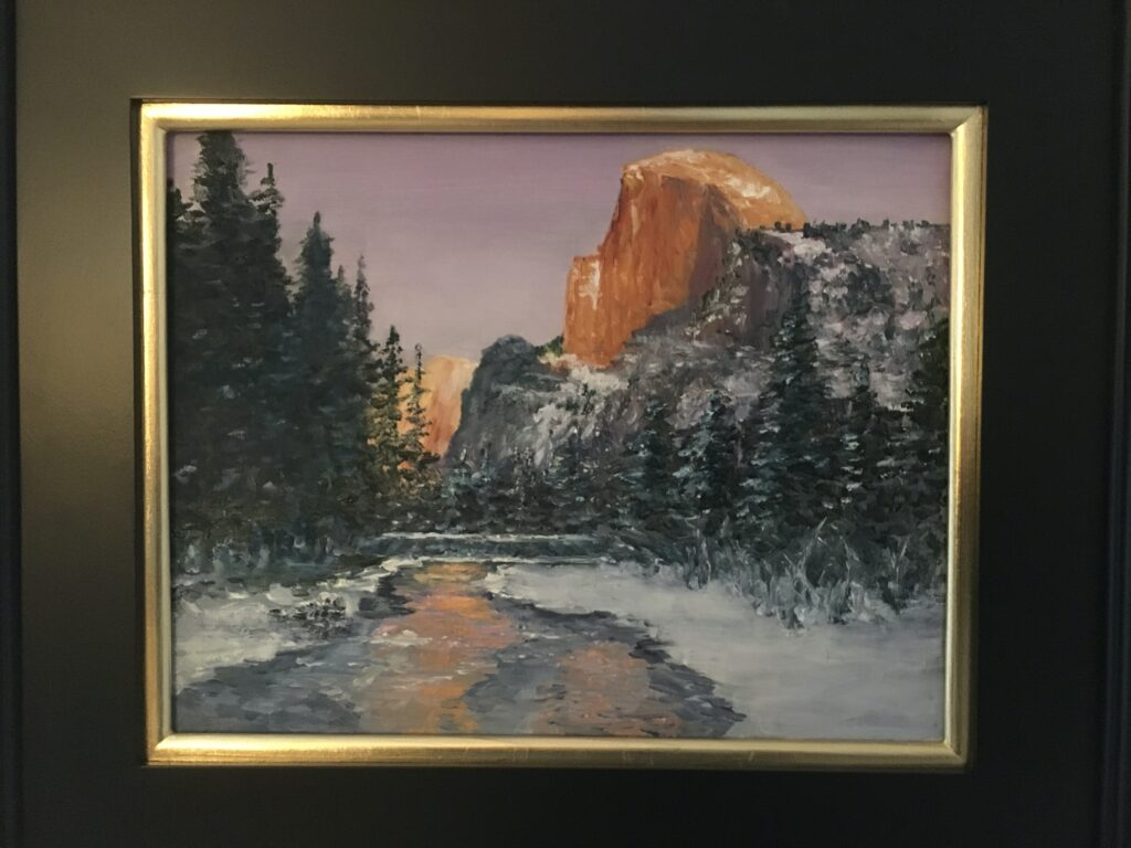 132 - Half Dome at Sunset - 11 x 14 - Landscape - $325 🔴