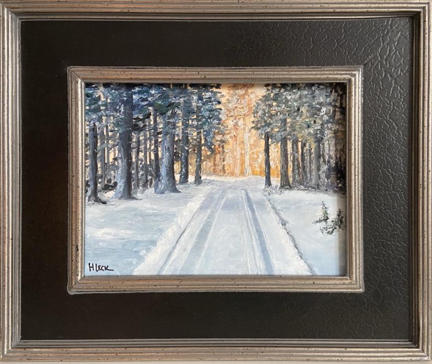 135 - Paradise Walk - 9 x 12 - Landscape - $125 - 🔴