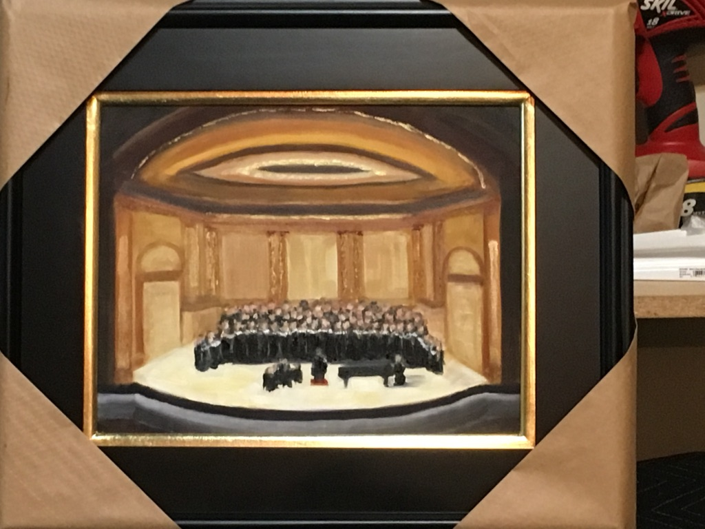 137 - Carnegie Hall - 11 X 14 - Architecture - $350 - Not Available