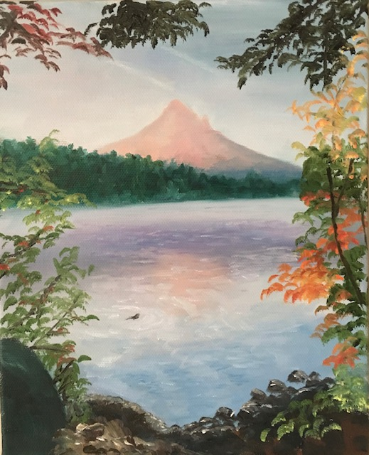138 - Mt Hood - 8 x8 - Landscape - Not Available - $150