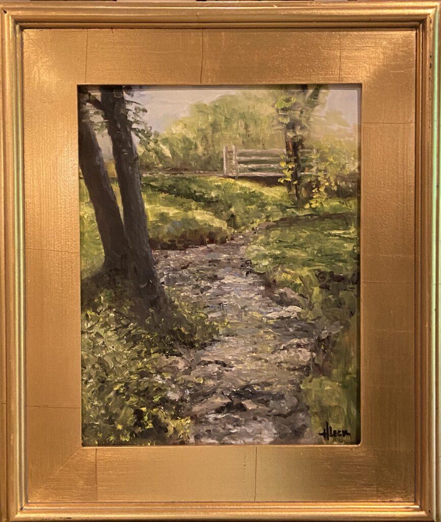 150 - IU Summer - 19 - 14 x 11 - Landscape - $150