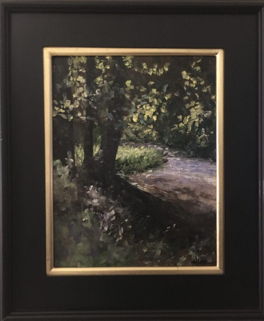 151 - Nashville Morning - 14 x 11 - Landscape - $275 - Not Available