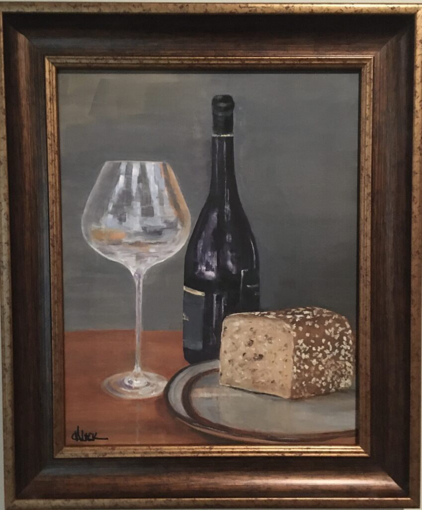 161 - Staples of Life - 20 x 16 - Still Life - $525 - Not Available