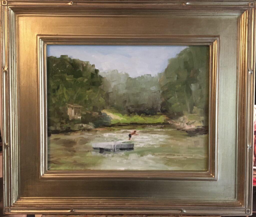 162 - Summer Daze - 11 x 14 - Landscape - $300 🔴