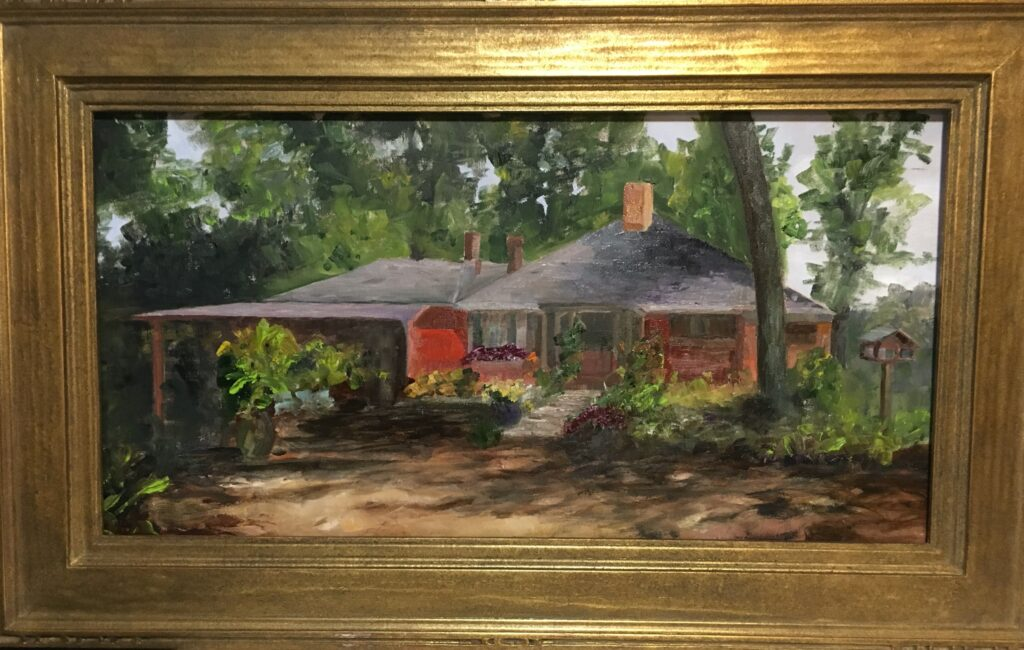 163 - T C Steele Home - 12 x 24 - Architecture - $450