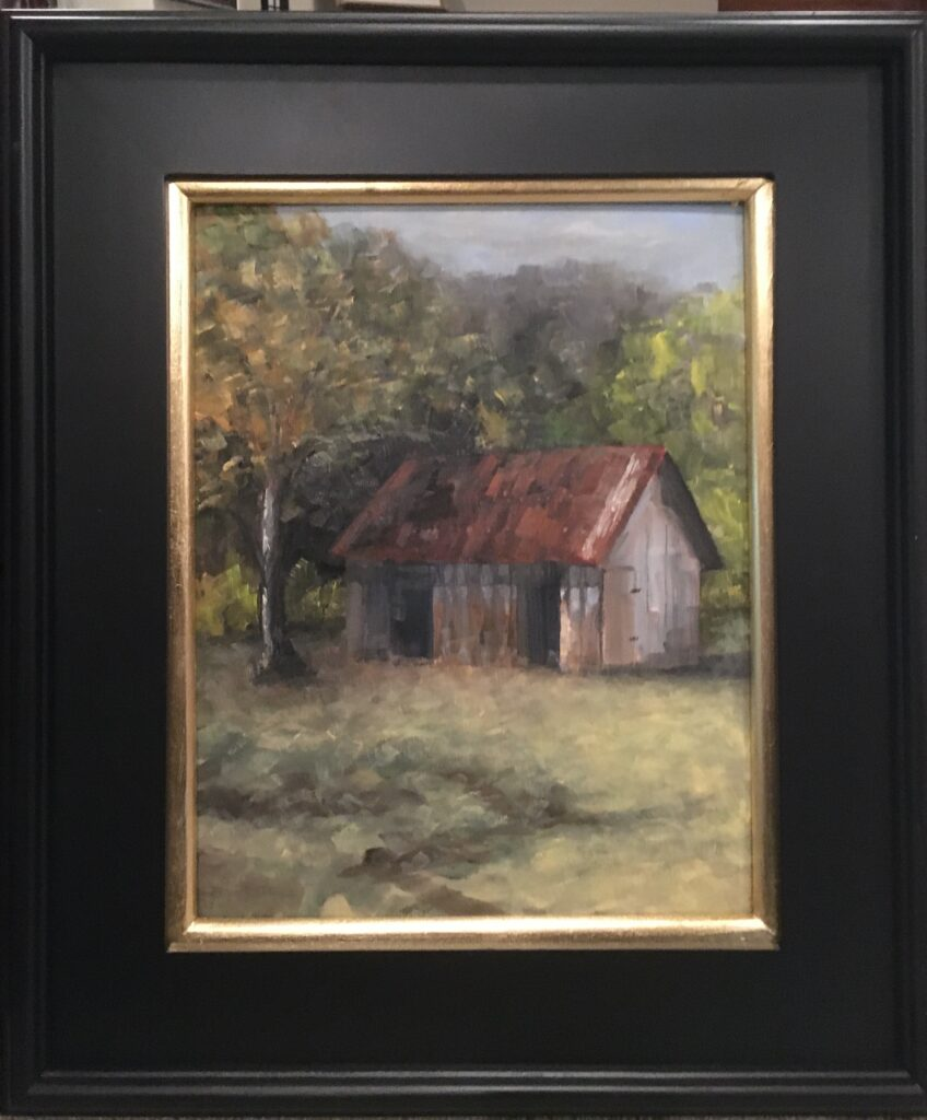 164 - Brown County Cabin - 14 x 11 - Architecture - Not Available - $450