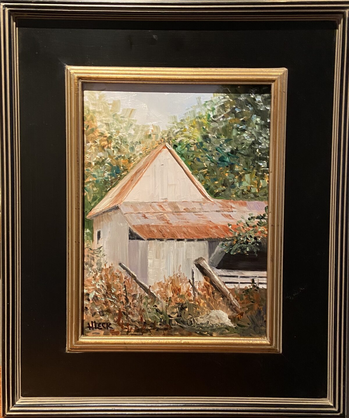 167 - Sweetwater Rd Barn - 9 x 12 - Architecture - $375 - Not Available