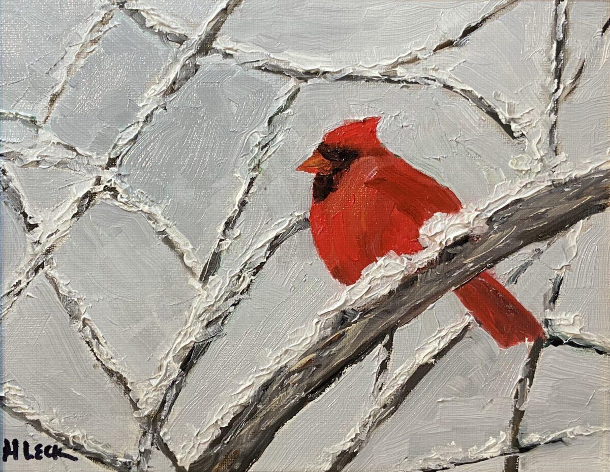 172 - Cardinal - 10 x 8 - Figurative - $85 - 🔴