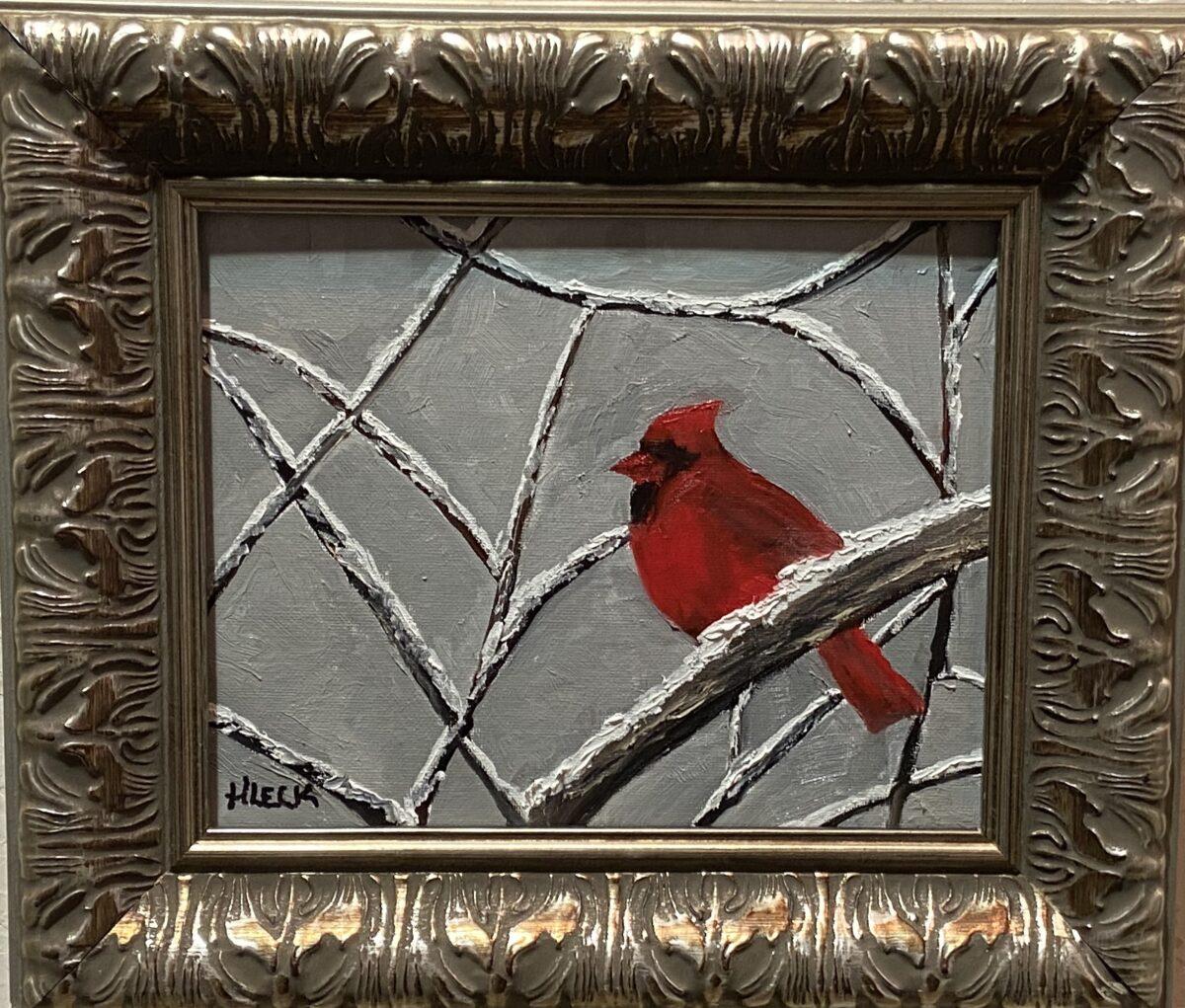 173 - Cardinal 2 - 10 x 8 - Figurative - $85