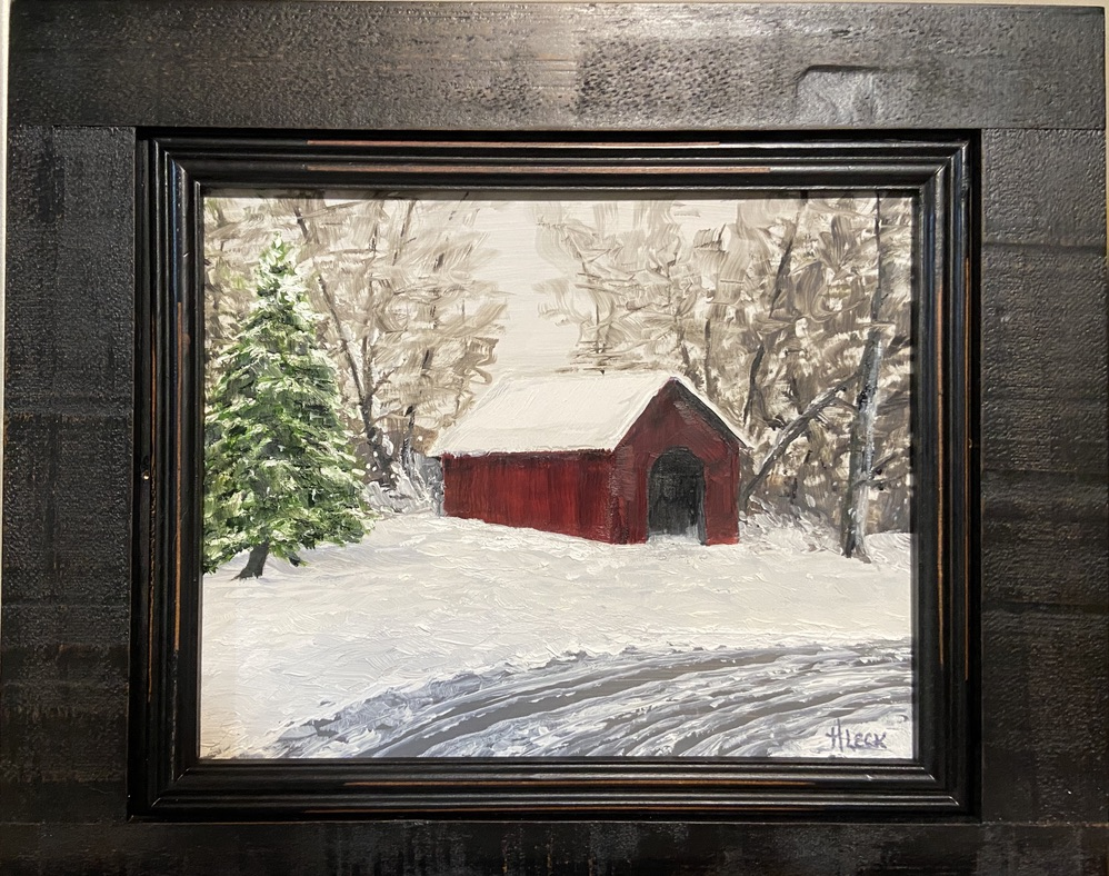 174 - Red Barn - 8 x 10 - Landscape - $75
