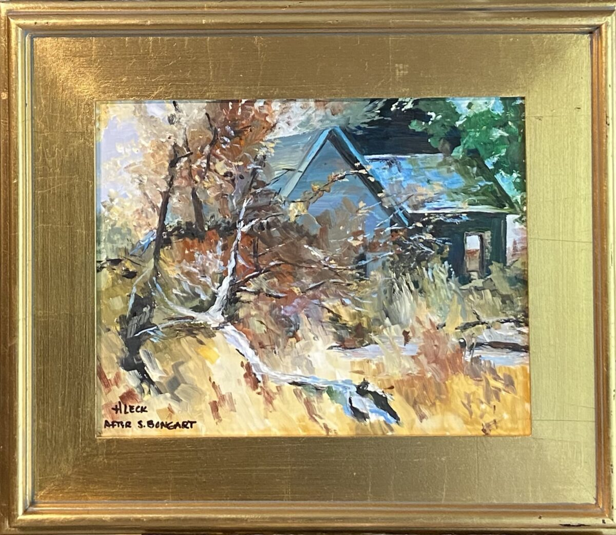 175 - Times Gone By (Bongart) - 11 x 14 - Landscape - $275