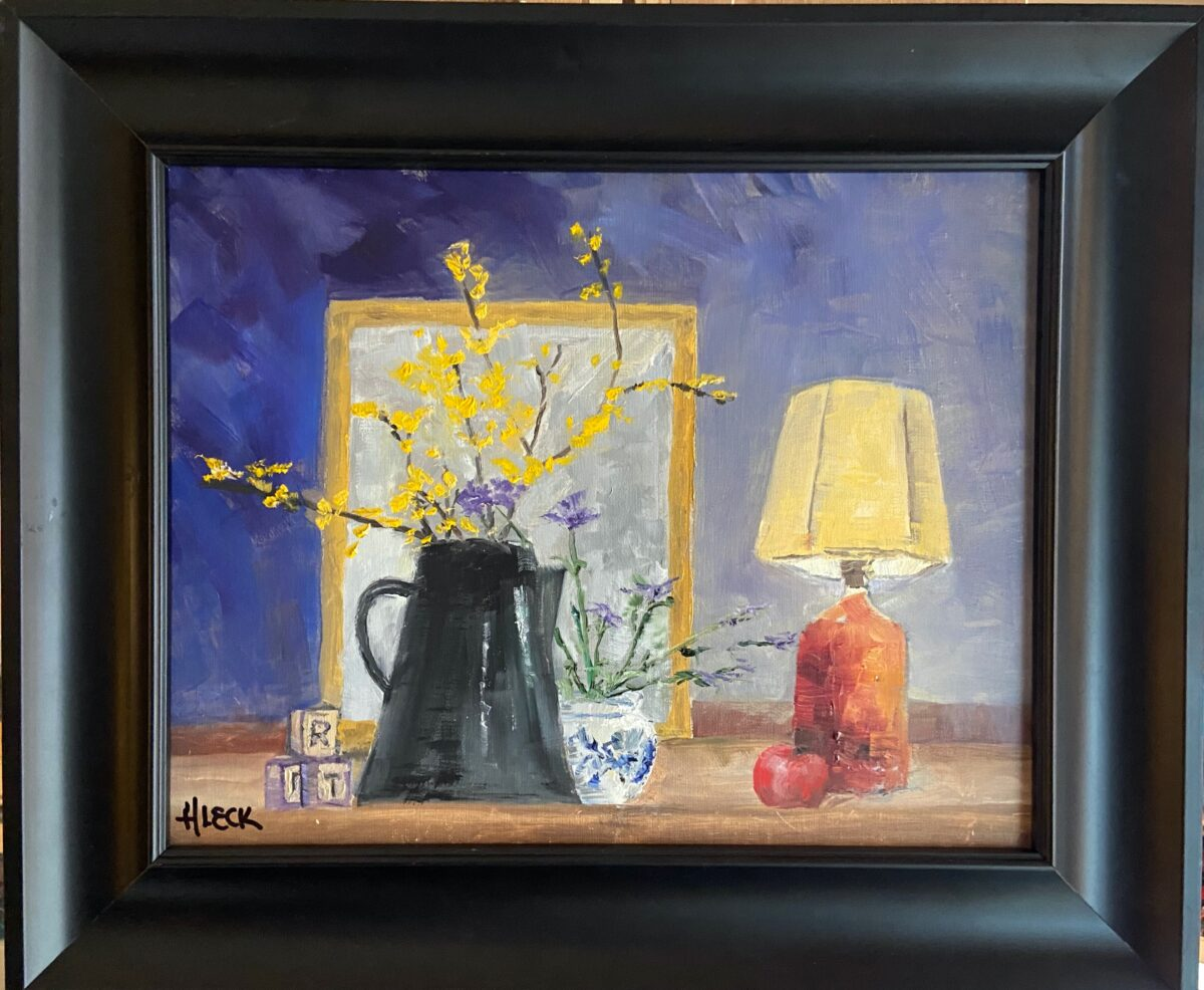 176 - Coffee Pot Still Life - 11 x 14 - Still Life - $125