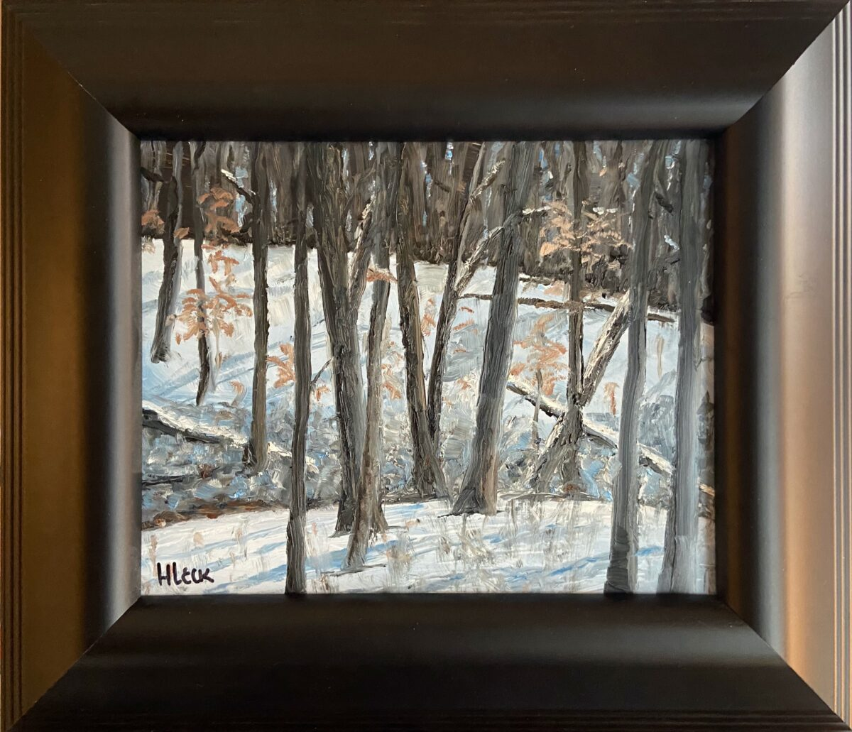 177 - Jackson Creek Rise - 8 x 10 - Landscape - $100