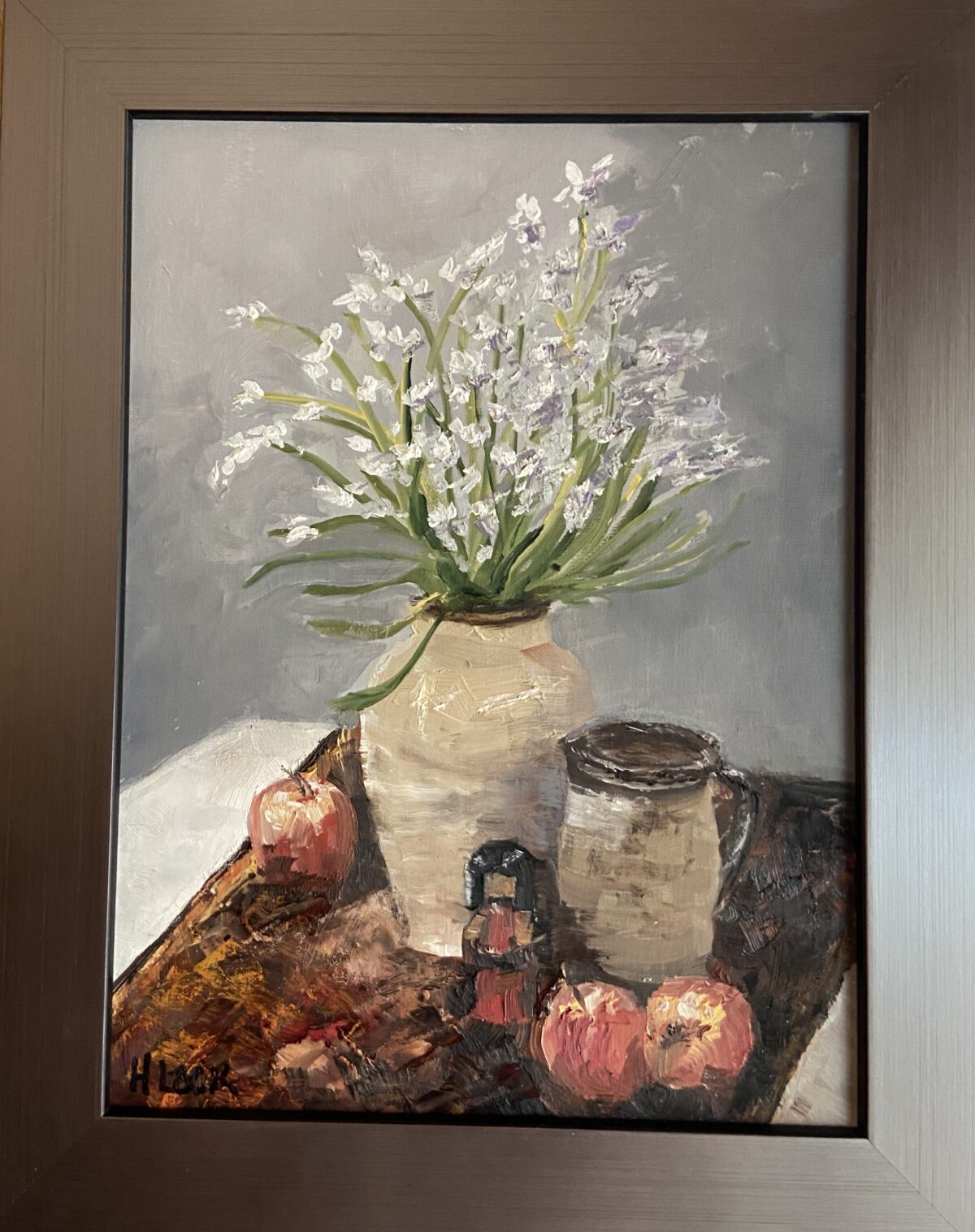 178 - Pottered Still Life - 9 x 12 - Still Life - $225