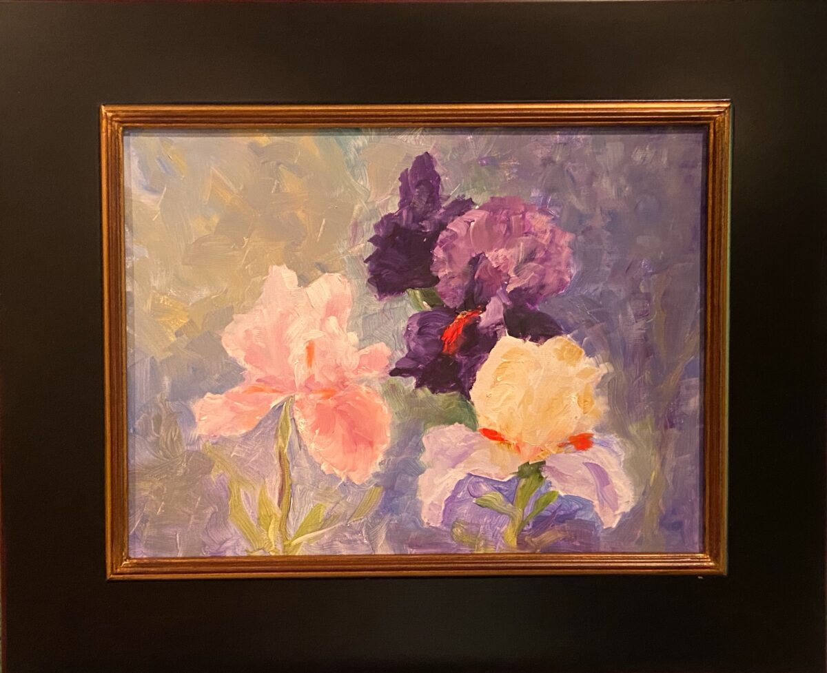 183 - May Bloomers - 12 X 16 - Still Life - $275
