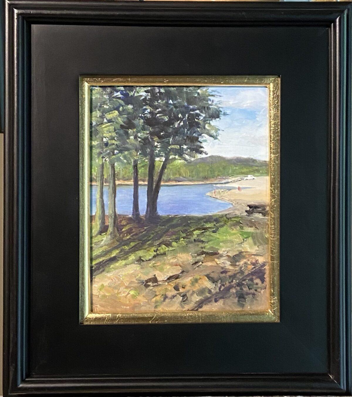 184 - Monroe at Paynetown - 9 x 12 - Landscape - $150