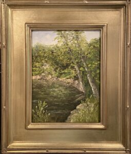 188 - Orthodox Quarry - 9 x 12 - Landscape - $350