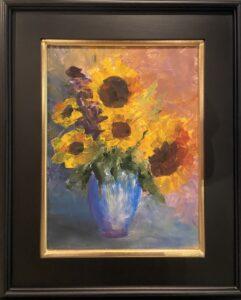 Sunflower Bouquet -1 - 12 x 16 - Still Life - $450